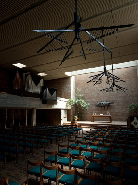 Gethsemanekirche im Nordend Frankfurt - Hans Georg Heimel