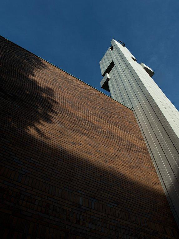 Gethsemanekirche im Nordend Frankfurt