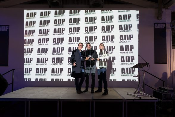 AOP Award 2017 in London
