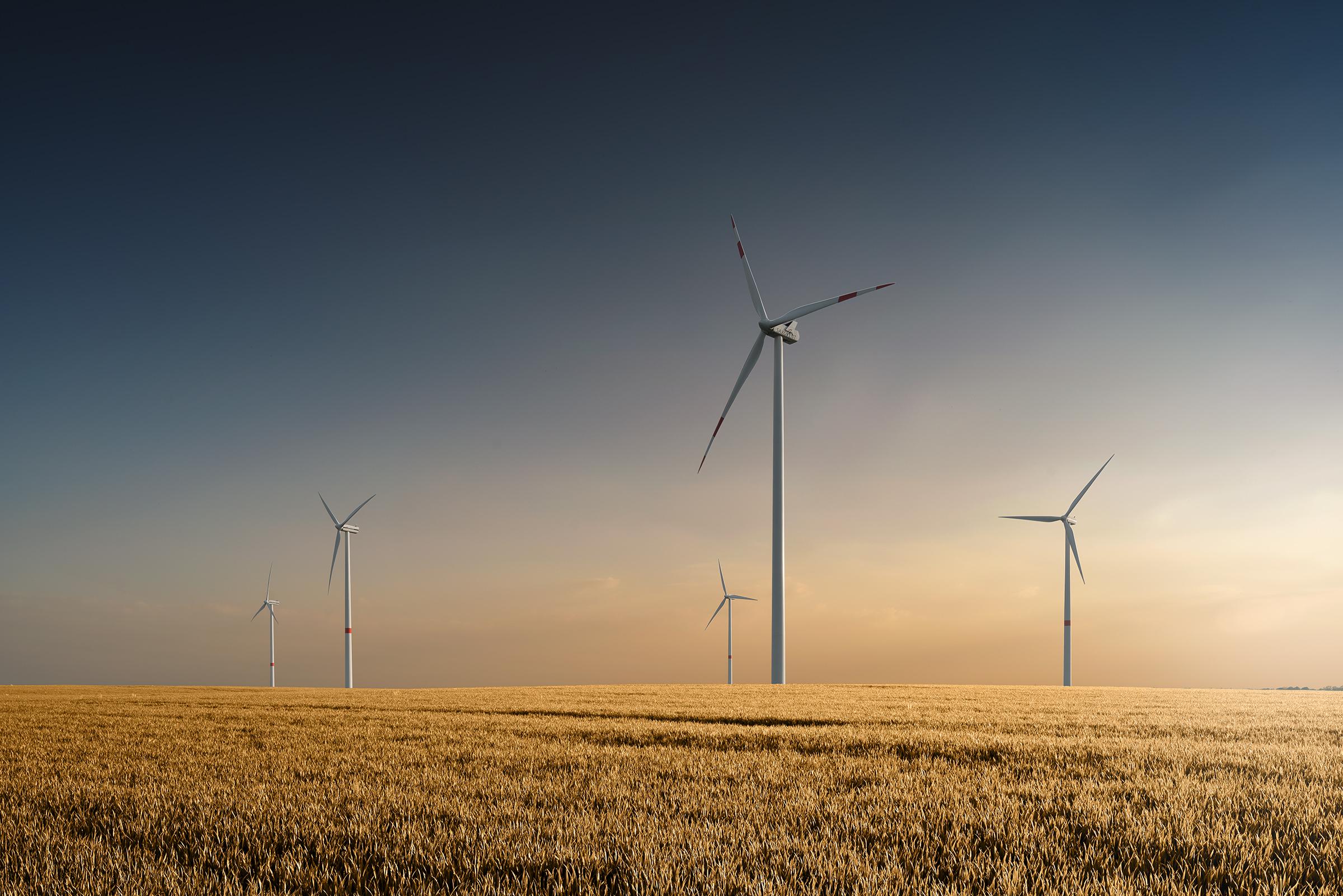 Nachhaltigkeit mit Windenergie