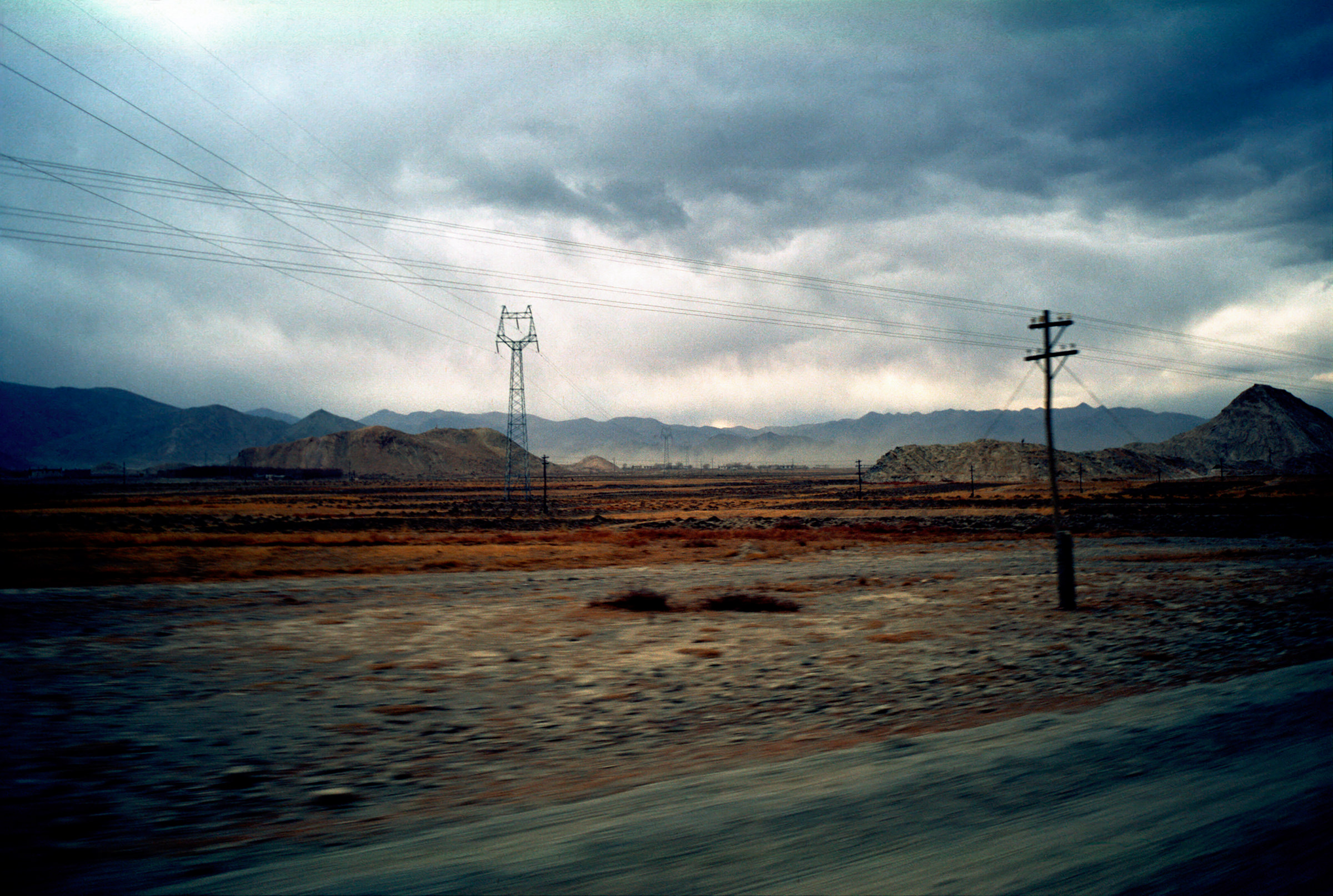 Strasse Tibet